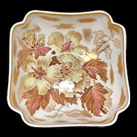 Spectacular Botanical Centerpiece Fruit Bowl ~ HIBISCUS 1882