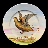 Philadelphia Centennial Exhibition 1876 Edward Kennard Plate ~ Partridge