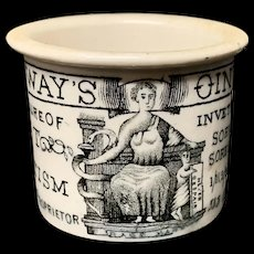 BOOB'S OUT Cure-All Medicine ~ Sore Breasts / Sore Heads Pot ~ 1880