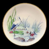 Staffordshire Water Babies Plate ~ Dignity & Impudence Fairy Elf c1880