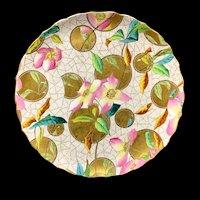 Superb English Aesthetic Movement George Jones Plate ~ Roses 1880