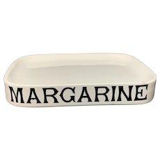 English Ironstone Margarine Dairy Shop Display Stand c1890