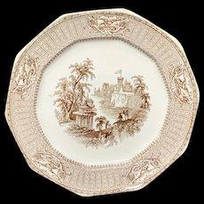 Staffordshire American Historical Washington Plate ~ 1840