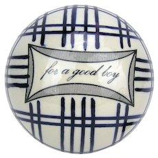 Scottish Carpet Ball ~ For A Good Boy