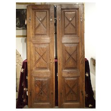 Pair of Circa 1700 Doors from the Piedmont Region of Italy