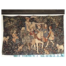 Medieval Style Tapestry from France, 20th Century