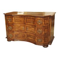 """Unusual Antique Walnut """"Commode Buffet"""" from Southern Germany, Circa 1760"""