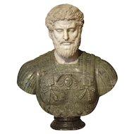 Italian Marble Bust of Lucius Aurelius Verus