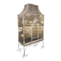 Large Antique French Birdcage, Circa 1915
