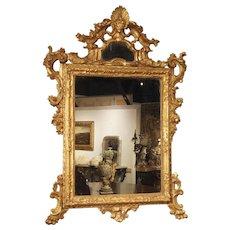 Antique Giltwood Mirror from Venice, Italy, Circa 1730