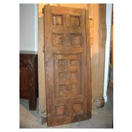 Antique Window Shutter from France-Mid 1800's