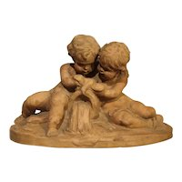 French Terra Cotta Sculpture by Fernand Guignier, Early to Mid 1900s