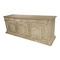 Late 17th Century Whitewashed Oak Enfilade from Burgundy, France