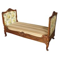 19th Century Carved Oak French Daybed