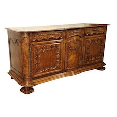 Very Rare and Beautiful Enfilade Bressan. Period Louis XIV, Early 1700s