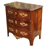 Small Regence Parquetry Commode from France, Circa 1715