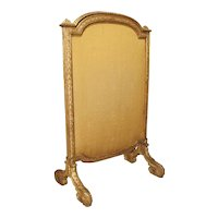 Period French Louis XVI Giltwood Firescreen, Circa 1780