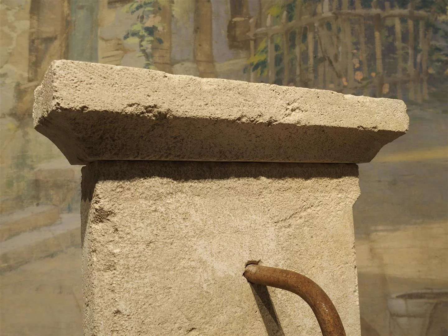 Small Limestone Wall Fountain from Provence, France : Le Louvre ...
