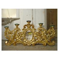 Early 19th Century French Giltwood Five-Arm Wall Sconce
