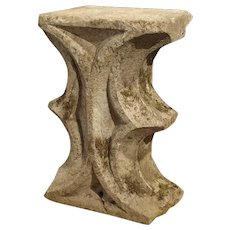 Gothic Period Architectural Stone Fragment from France, 15th Century