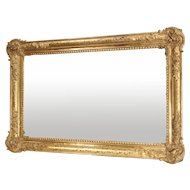 A Large 19th Giltwood Mirror from France