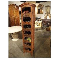 """Antique French Case Clock Wine Carrier """"Bordeaux"""""""