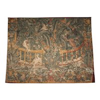 Flanders Game Park Silkscreen Tapestry Wall Hanging
