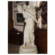 La Marchande D'Amour, Signed Adrien Gaudez, Dated 1880