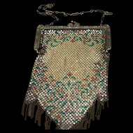 Mandalian Mesh and Chain Handbag Vintage