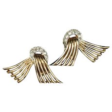 Boucher Vintage Earrings Clips MB Phrygian Cap