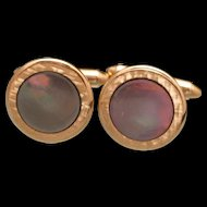 Krementz Mother of Pearl Cuff Links Vintage