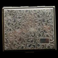 German Silver Cigarette Case Vintage