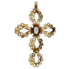Winard Cross Pendant Vintage 10k Gold Filled