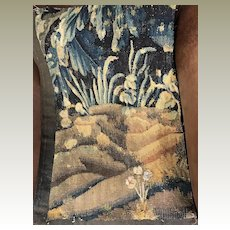 17th Century French Aubusson Verdure Tapestry Panel