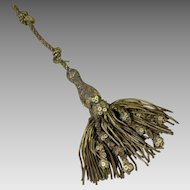 18th Century French Gold Metallic Tassel Tie Back