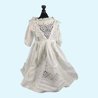 """Authentic French Dress for 22""""-24"""" Jumeau or Similar"""