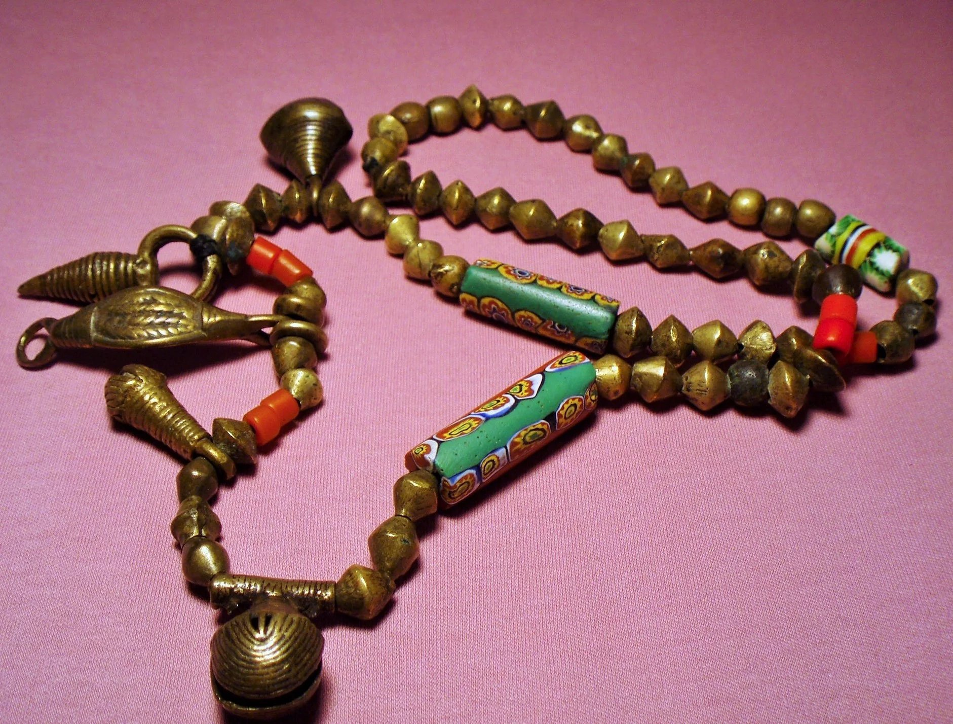 with brotherly indian antique love carved products bead beads indonesian necklace trade copy century heirloom naga