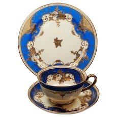 Vintage A. Warnecke Hamburg Meito Porcellan Teacup Saucer Luncheon Dessert Set