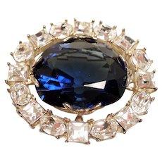 Smithsonian Replica of Hope Diamond Brooch