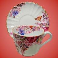 Vintage Spode Copelands Chelsea Garden Teacup  Demitasse Cup