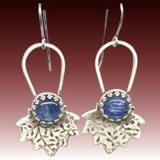 Kyanite Sterling Silver Earrings