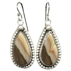 Royal Imperial Jasper Sterling Silver Earrings