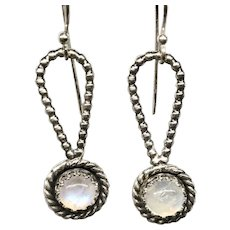 Moonstone Sterling Silver Earrings