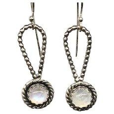 Moonstone Sterling Silver Earrings