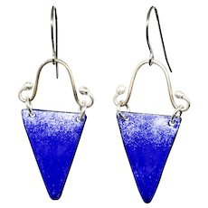Rustic Blue Earrings