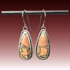 Maligano Jasper Sterling Silver Earrings