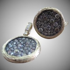 Vintage Diamond Mosaic Ring (pendant is no longer available)