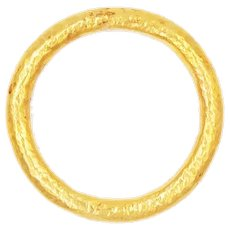 2020~18K solid Gold Band, limited edition