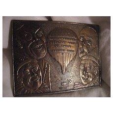 Barnum & Bailey 1908 Brass Belt Buckle