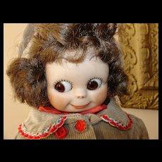 "14"" Googly-Eyed Doll"